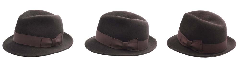 Forme du chapeau trilby