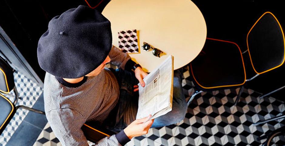 La boina vasca  sombrero muy francés. 9e8ff25ee48